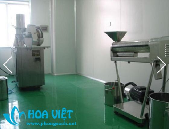 Phân xưởng sản xuất thuốc thú y