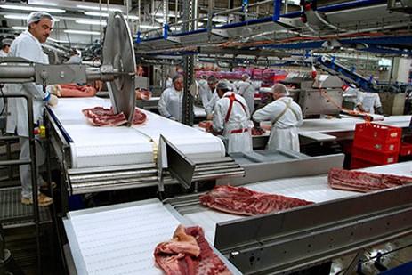 Phòng sạch chế biến thịt