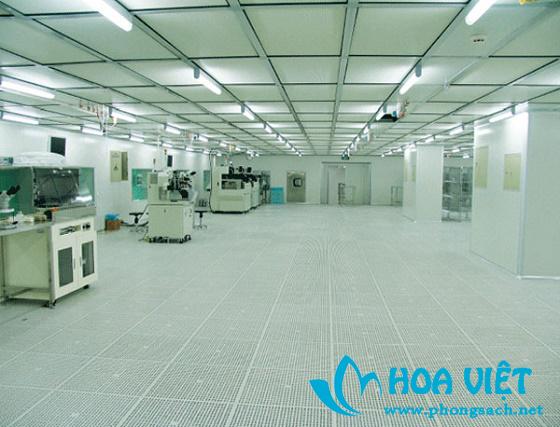 Phòng sạch không bụi điện tử cấp 100 - Đại học Hoa Trung, Vũ Hán