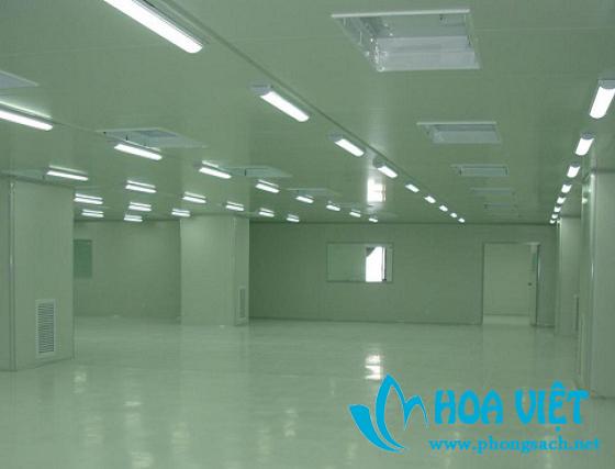 Phòng sạch cho sản xuất thiết bị điện tử - Công ty Phú Cường
