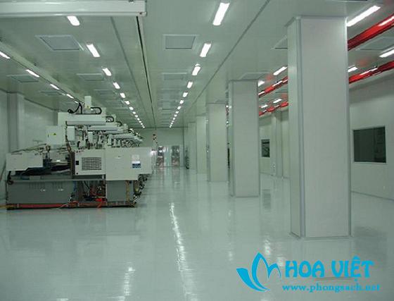 Phòng sạch sản xuất mỹ phẩm - Mỹ phẩm Liên Sáng, Vũ Hán