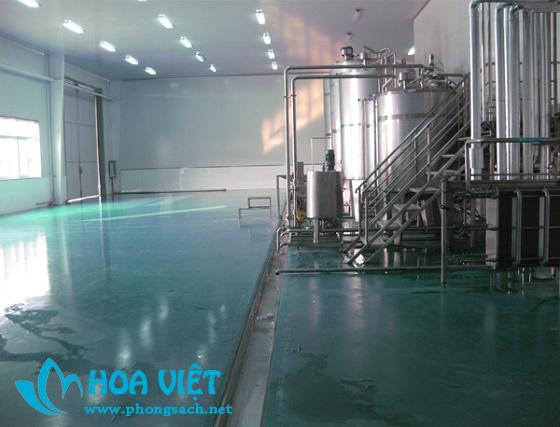 Phân xưởng sản xuất đồ uống, đóng chai - Thực phẩm Khang Chi Vị