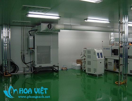 Phòng sạch thực phẩm chức năng - Công ty Bông băng y tế Mỹ Bảo Lợi