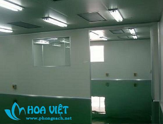 Phòng sạch sản xuất thực phẩm - Công ty Roquette