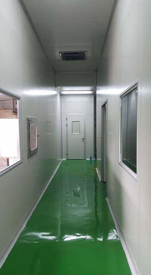 Thi công cơ sở phòng sạch - Dược phẩm Eloge France