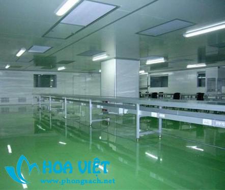 Công trình phòng sạch thiết bị y tế- Công ty Vệ Dân