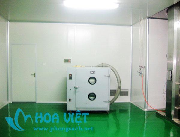 Phân xưởng sản xuất thuốc dạng viên nang - Công ty Lai Phúc Đặc