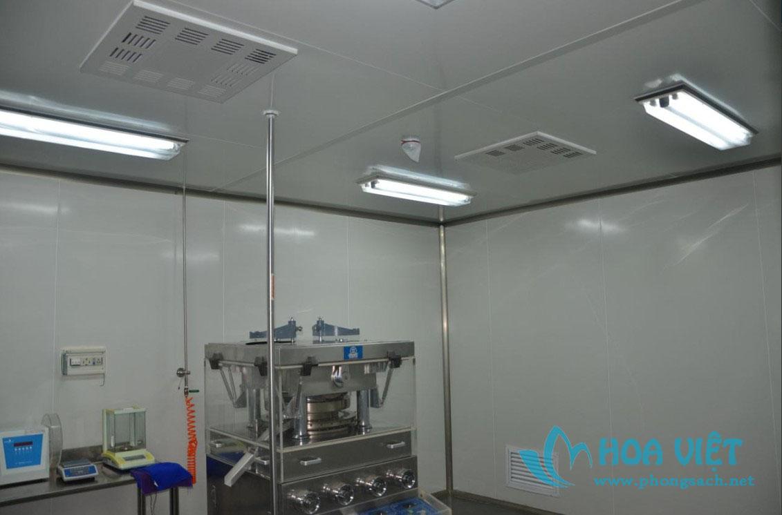 Phân xưởng sản xuất thuốc dạng viên nang - Công ty Phúc Cách Thâm