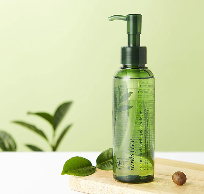 Innisfree Green Tea Gel To Foam