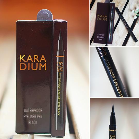 Kết quả hình ảnh cho Karadium Waterproof Eyeliner Pen Black
