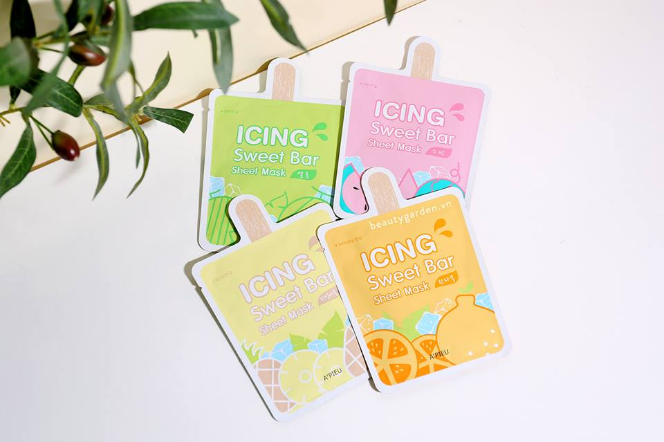 Mặt Nạ A'Pieu Icing Sweet Bar Sheet Mask 1