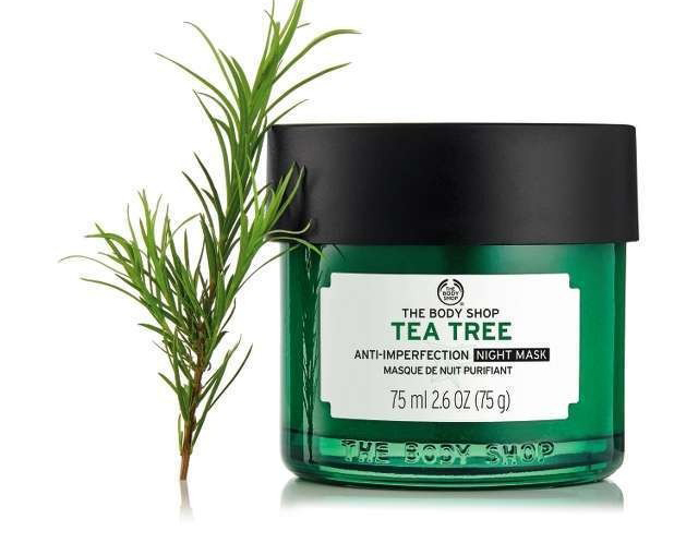 Mặt Nạ Ngủ Tea Tree The Body Shop