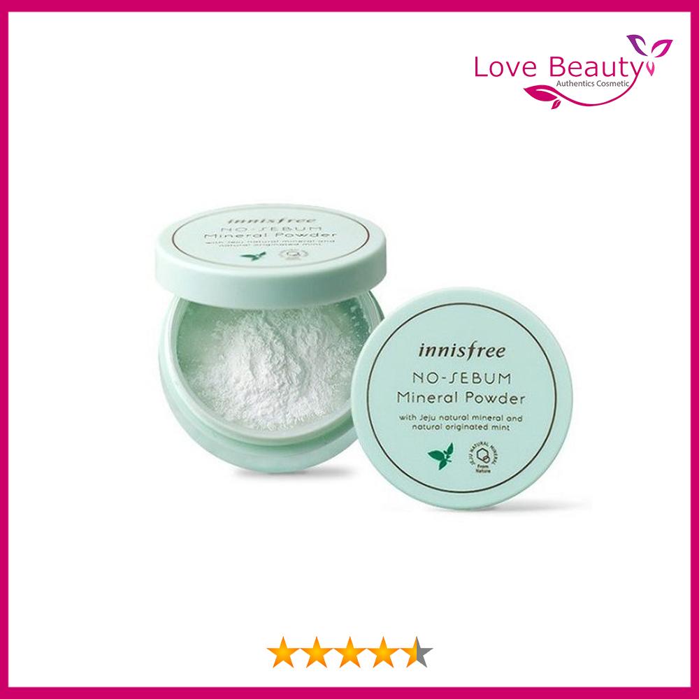 Phấn bột cho da dầu- No sebum mineral powder