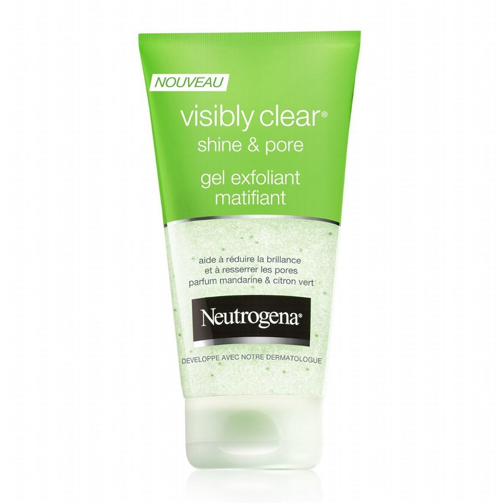 Sữa rửa mặt Neutrogena Visibly Clear Shine & Pore Gel Exfoliant Matifiant