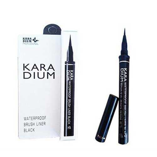 Kẻ mắt dạ Karadium Eyeliner Pen Black
