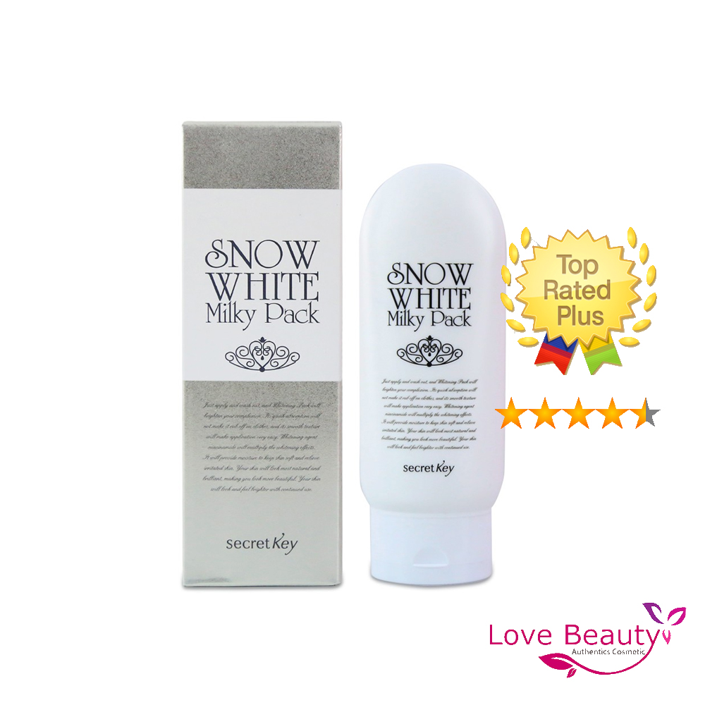 Tắm trắng Snow White Milky Pack