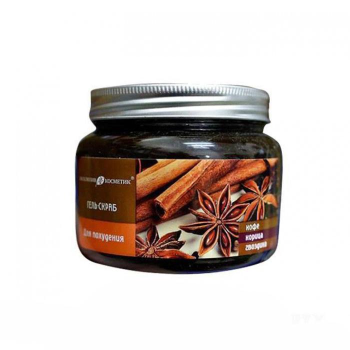 Tẩy da chết quế hồi Gel Scrub Coffee Cinnamon Cloves