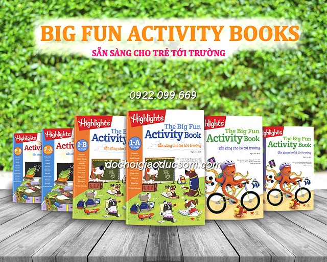 Big Fun - Activity Book - Trọn bộ