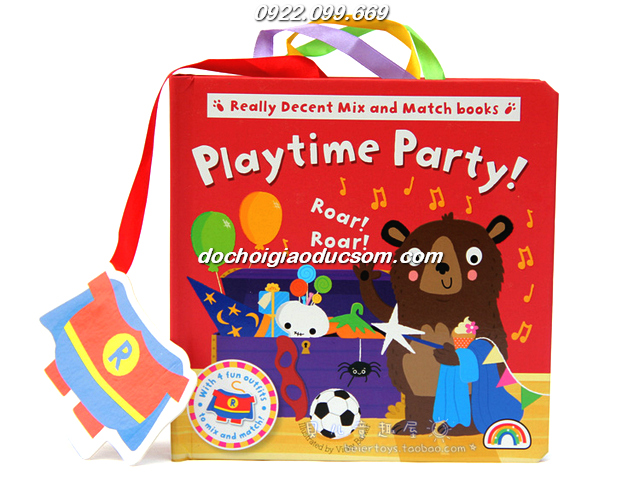 mix match book playtime party giá rẻ
