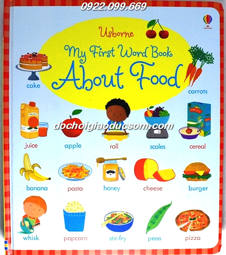 My first word book about food giá rẻ