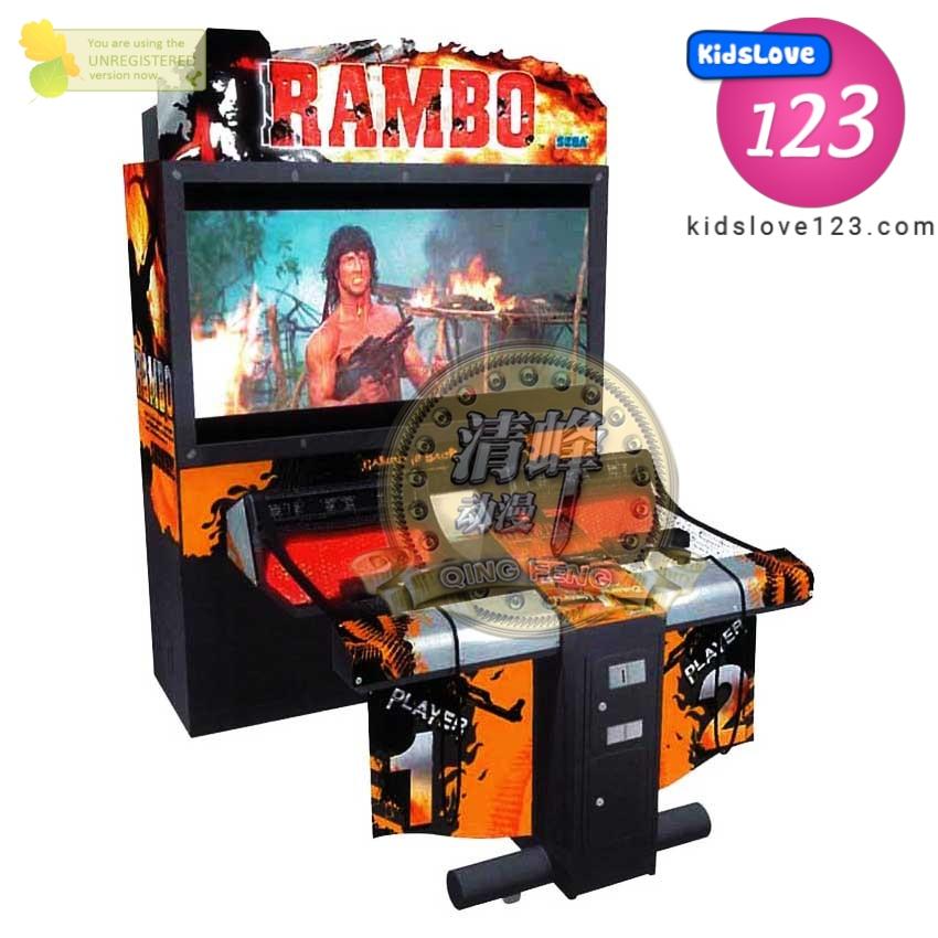 MÁY GAME THÙNG BẮN SÚNG RAMBO