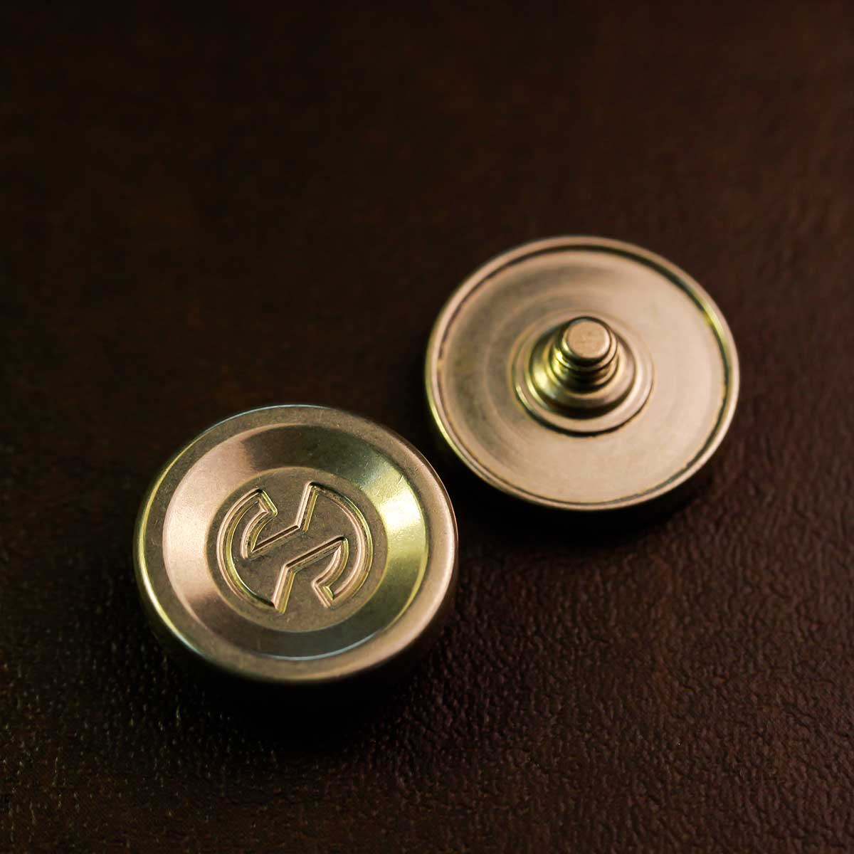 Brass MF buttons set of Hyperstone