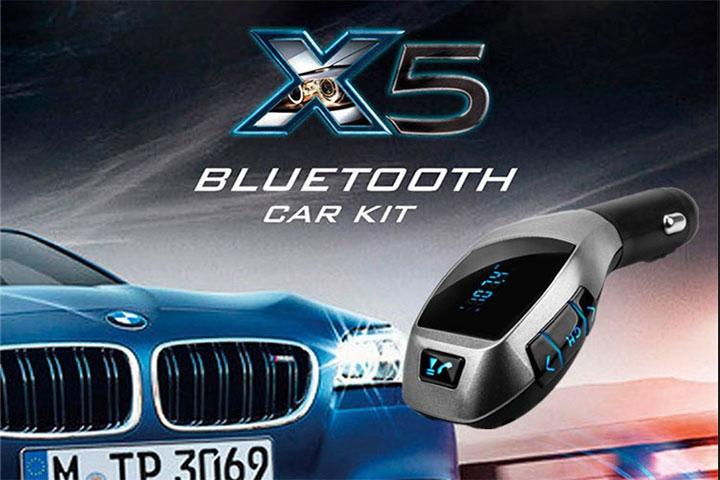 Tấu sạc nghe nhạc trên xe hơi X5 - ảnh 2