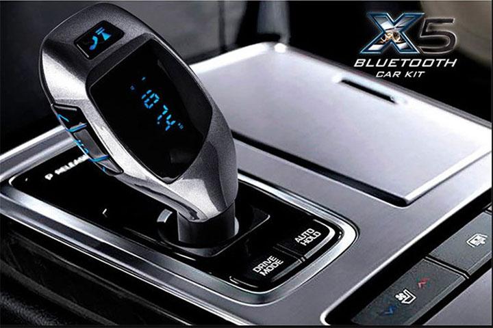 Tấu sạc nghe nhạc trên xe hơi X5 - ảnh 3