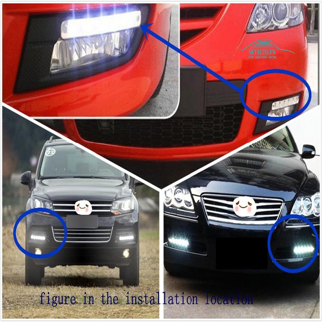 Đèn Led - DRL Badosok xe hơi loại đặc biệt - F023