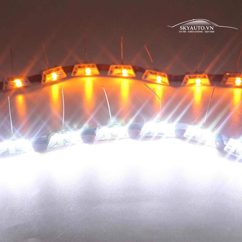 Đèn Led - DRL mí mắt hạt to loại xe đặc biệt