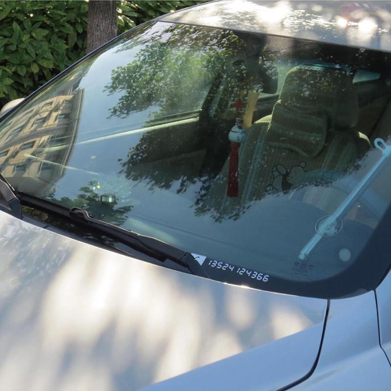 Decal bảng số điện thoại cho xe ô tô