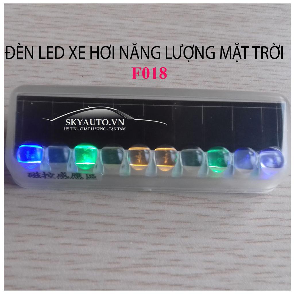 Đèn Led xe hơi năng lượng mặt trời