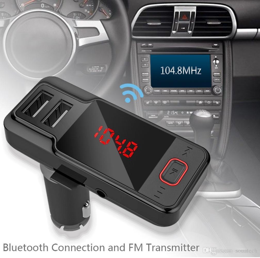 Tẩu sạc nghe nhạc trên xe hơi BT719S