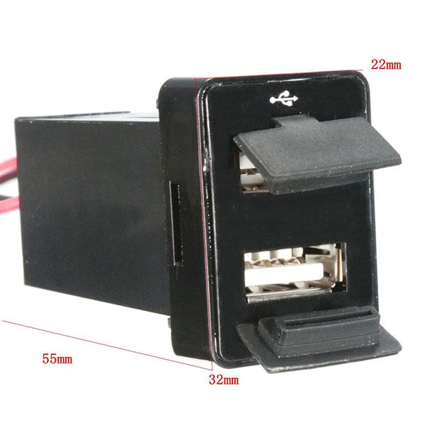 Cổng sạc USB cho xe Toyota