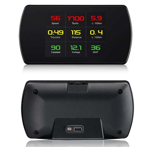 Hiển thị tốc độ trên kính lái HUD P12