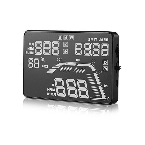 Hiển thị tốc độ trên kính lái HUD Q7