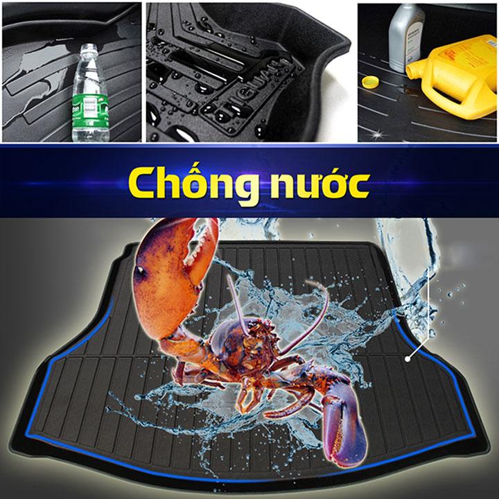 Lót cốp nhựa TPO cao cấp cho xe ô tô