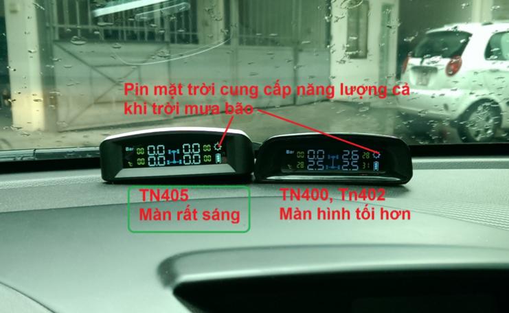 Cảm biến áp suất lốp van trong Skyauto TN405