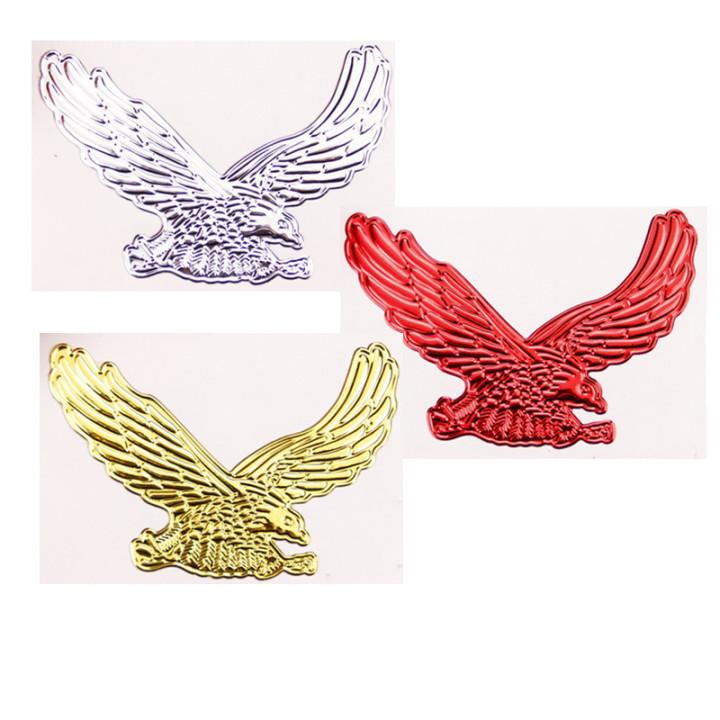 Sticker - Đại bàng vàng 3D
