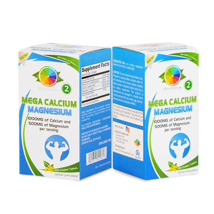Bộ 02 sản phẩm Mega Calcium Magnesium