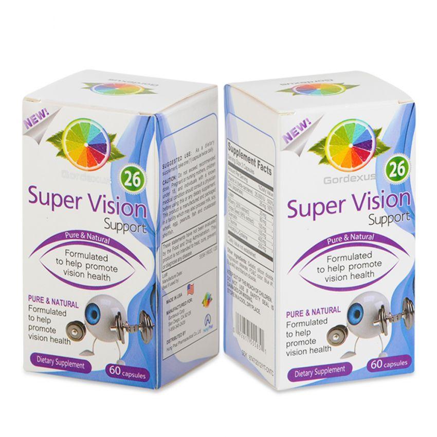 Bộ 2 hộp viên uống hỗ trợ thị lực Super Vision Support