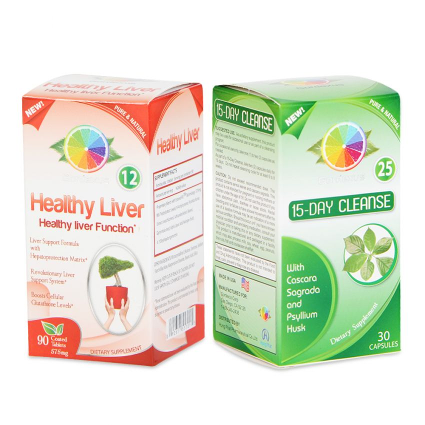 Bộ sản phẩm hỗ trợ chức năng gan và thanh lọc cơ thể