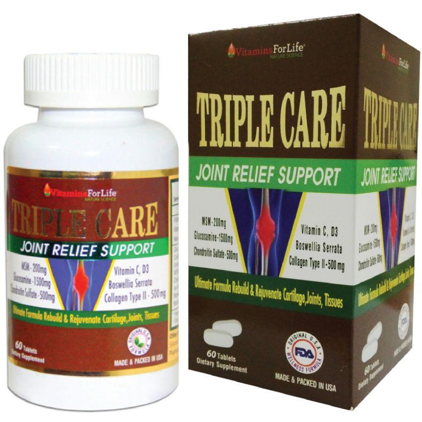 Viên uống hỗ trị điều trị xương khớp Triple Care