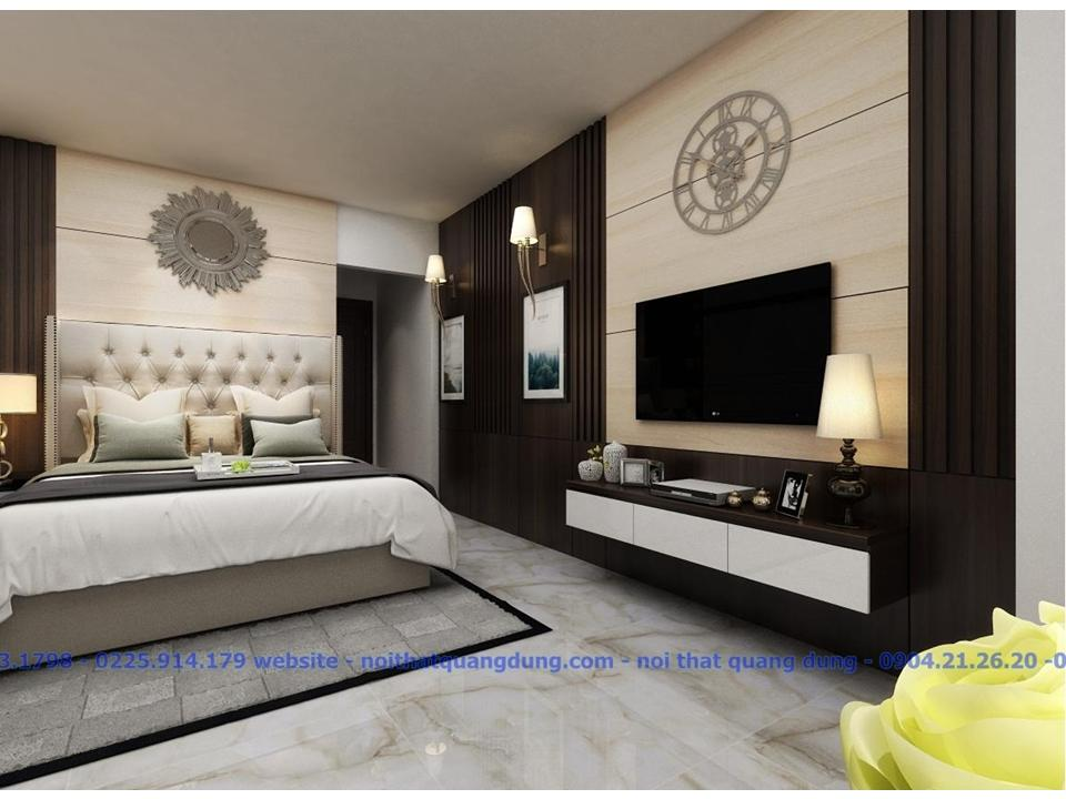 Phòng ngủ Master chị Minh