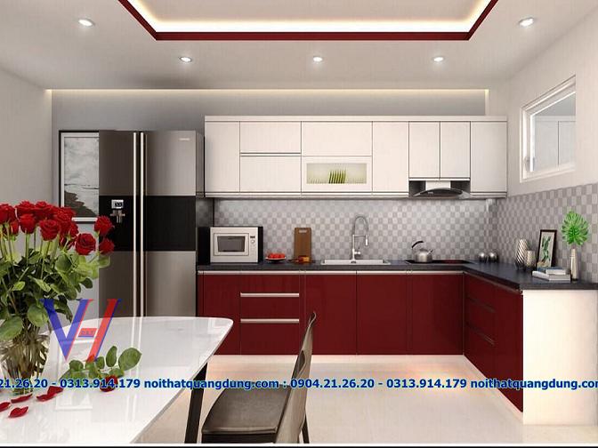 tủ bếp nội thất quang dũng hải phòng