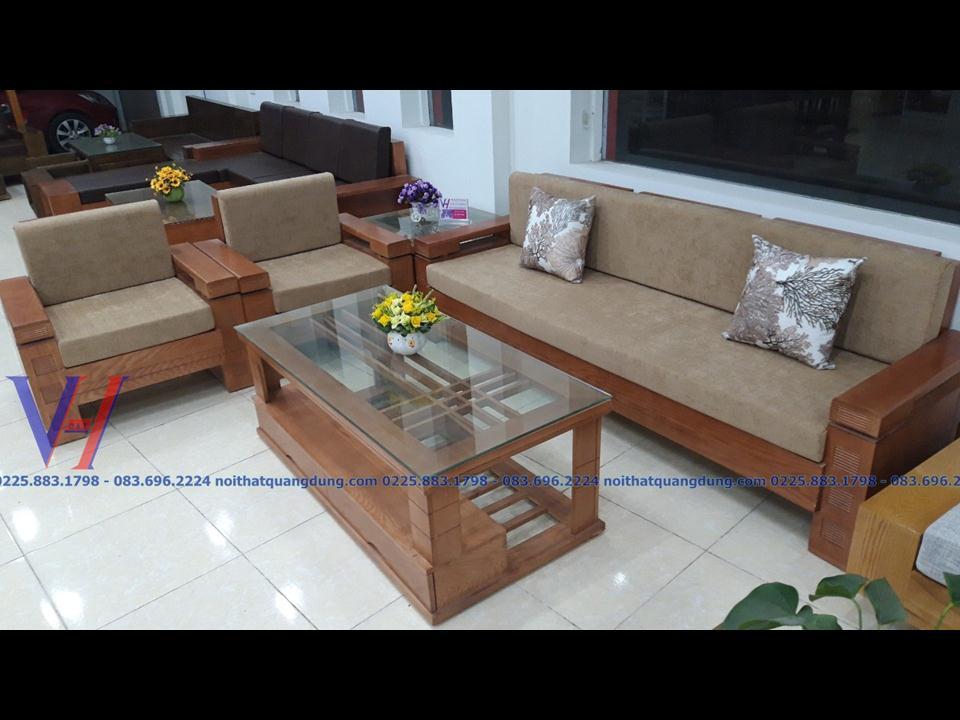 Bộ sofa kê góc đa năng tại nội thất quang dũng