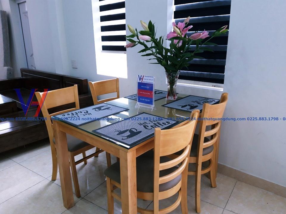 Bộ bàn ghế ăn Cabin-1202