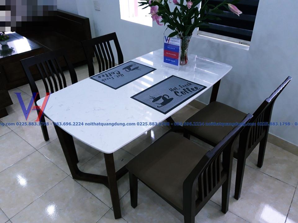 bàn ăn đẹp hải phòng