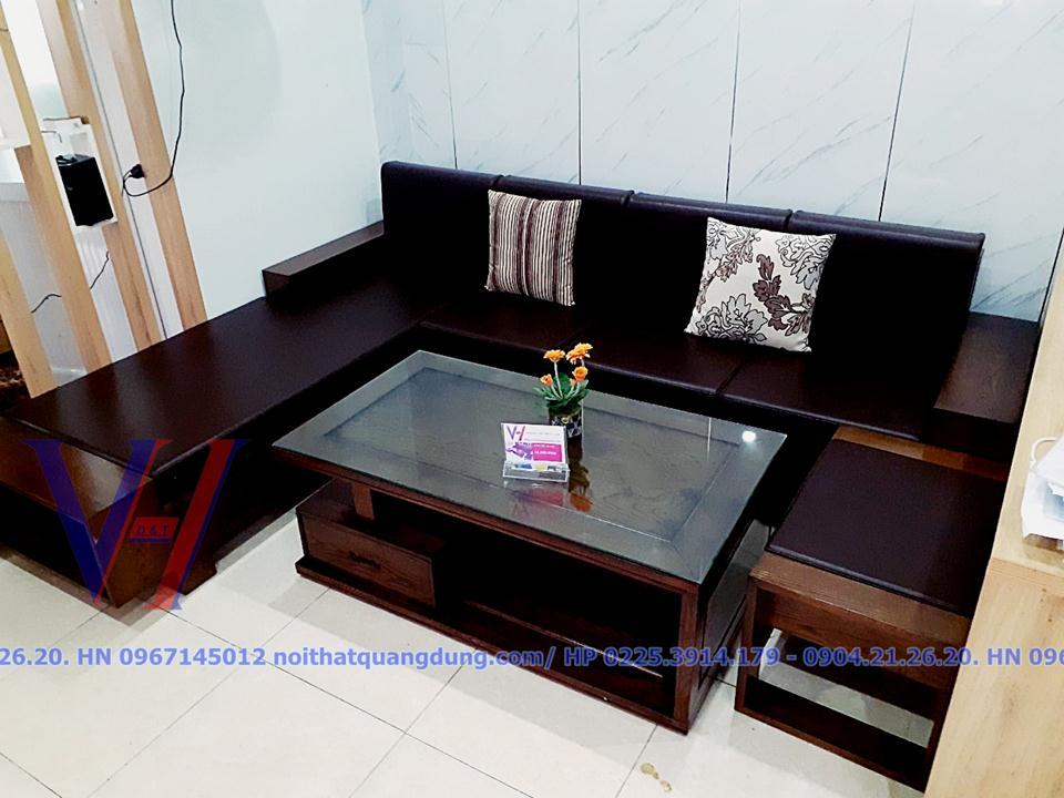 sofa gỗ quang dũng