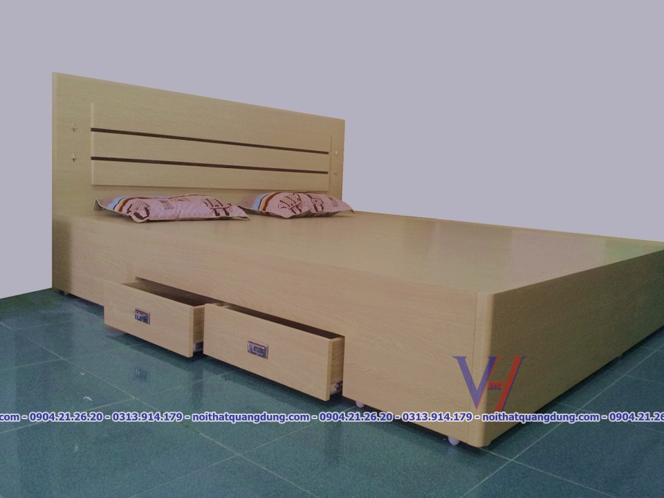 giường ngủ 2 ngăn kéo